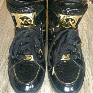 Michael Kors Patent leather sneakers